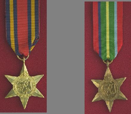 Burma Star Association - Medal